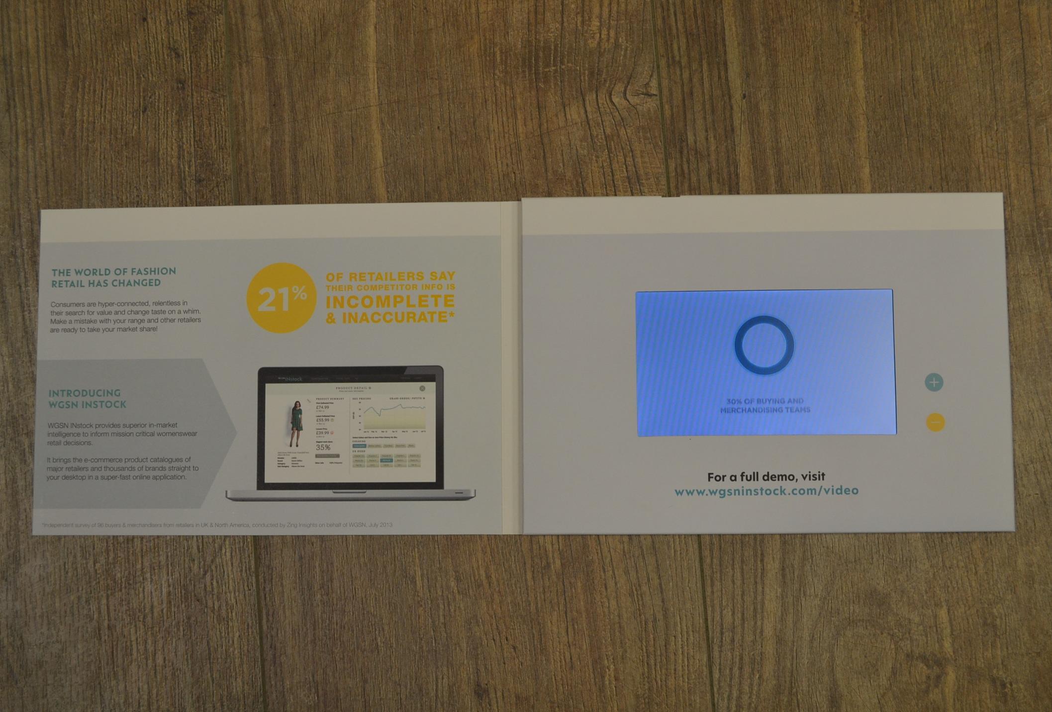Examples – Promo Video Brochures